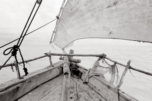 Approaching Zanzibar- Fine Art Black and White photography. Glen Green Photography