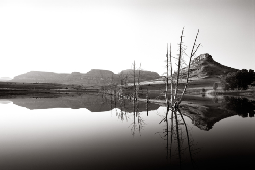 Clarens, South Africa - Fine Art Black and White photography-Glen Green Photography
