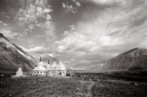 Nubra Valley, Ladakh, India- Fine Art Black and White photography. Glen Green Photography