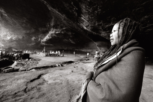 Sangoma, South Africa - Fine Art Black and White photography-Glen Green Photography