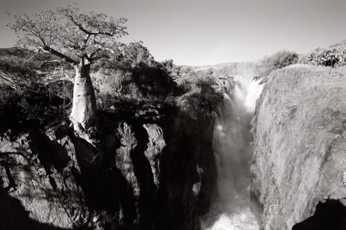 Epupa Falls, Namibia - Fine Art Black and White photography-Glen Green Photography